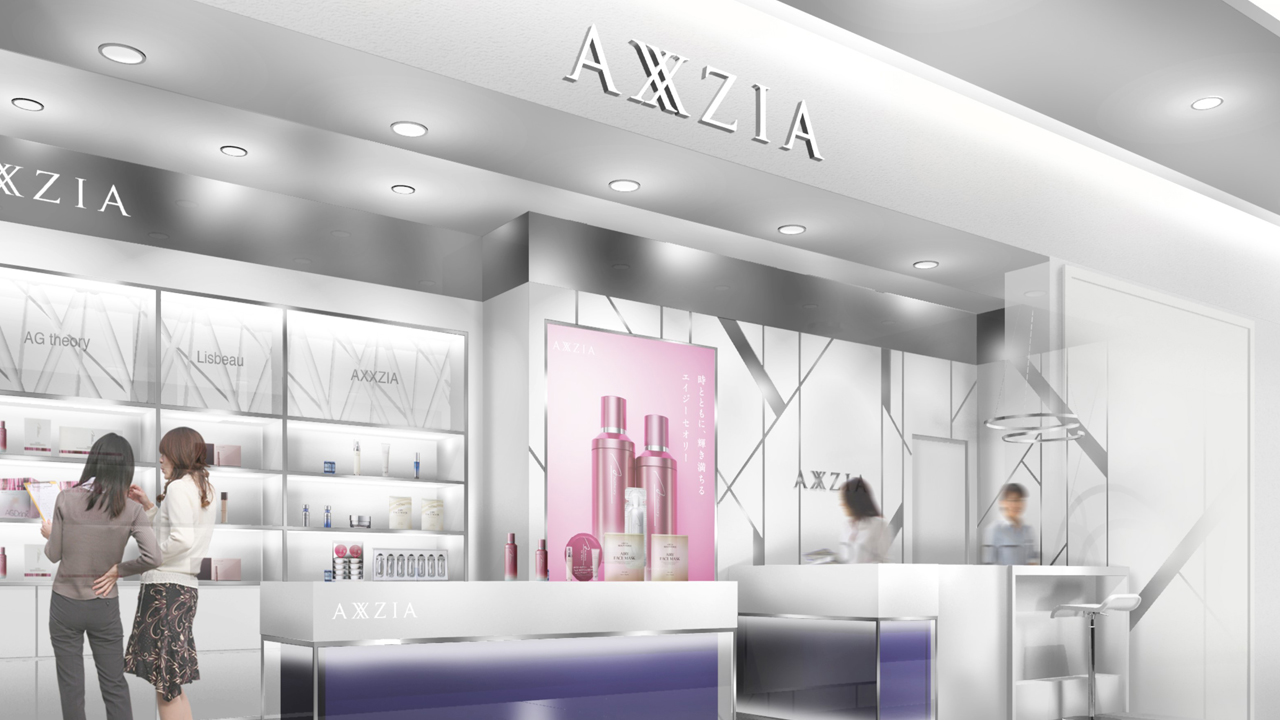 AXXZIA GINZA SIX店